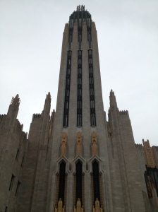 Boston Avenue Methodist Church, a nice example of religious Art Deco architecture.