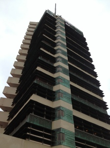 Frank Lloyd Wright's Price Tower in Bartlesville, OK.