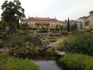 The Philbrook as seen from the gardens.