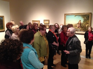 This touring exhibition is from the Museum of Fine Arts Boston