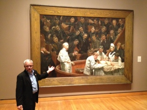 The Agnew Clinic by Thomas Eakins at the PMA