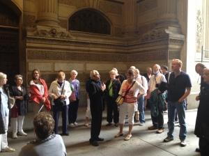 Walking through City Hall