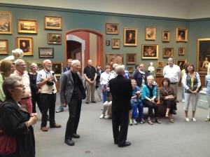 The PAFA galleries