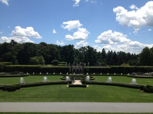 The fountains at Longwood Gardens