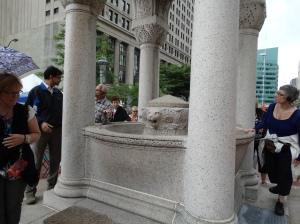 A close look at H.H. Richardson's Bagley Fountain.