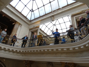 At the Musée Jacquemart-André.