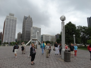 In Hart Plaza.