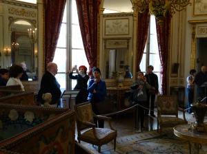 Visiting the Musée Nissim de Camondo.