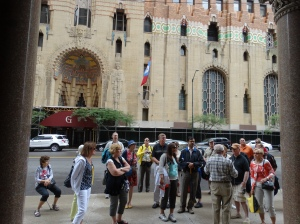 Viewing the Buhl and Guardian Buildings.