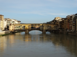 The Ponte Vecchio during the day.