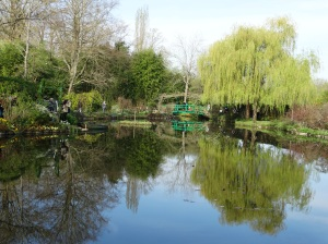 Monet's water lily pond at Giverny.