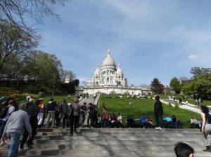 Sacre Coeur de Montmartre.