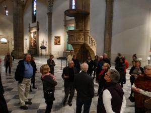Inside Santa Maria Novella.