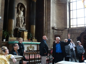 In a side chapel at San Sulpice.