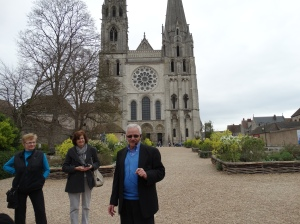 Our excursion to Chartres.