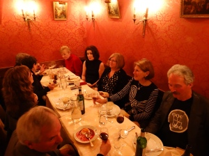Our farewell to Paris dinner.