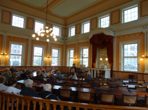 In the Senate of the Old State House.