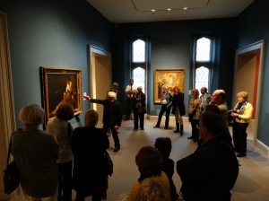 The European galleries at the Wadsworth Atheneum.