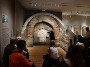 The ancient galleries at the Yale University Art Gallery.
