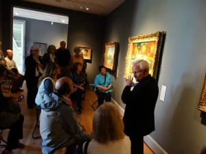 The European galleries at the Yale University Art Gallery