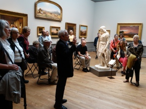 The American galleries at the Yale University Art Gallery.