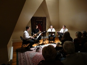 Carl Cafagna & The North Star Saxophone Quartet.