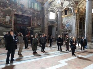 In a Neapolitan church