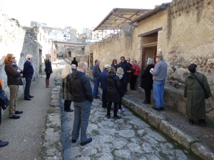 On the streets of ancient Herculaneum