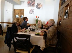 Lunch in Pompeii
