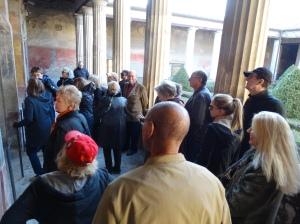 In a grand villa in Pompeii