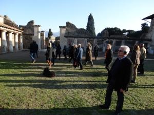 At Pompeii