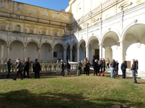 The courtyard at San Martino
