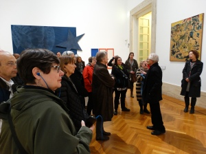 At the Museum of Modern Art in Rome