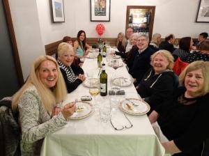 Our farewell dinner